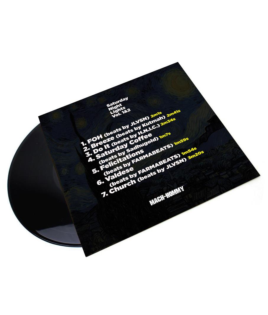Mach Hommy Vinyl