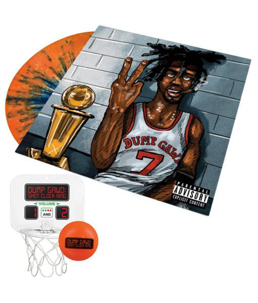 Vinyl LP + Mini Basketball Hoop